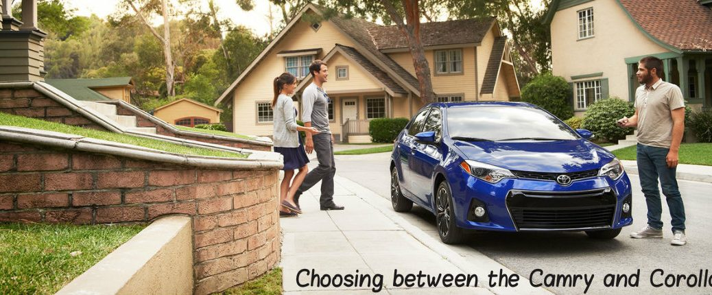 see how the toyota camry and corolla compare