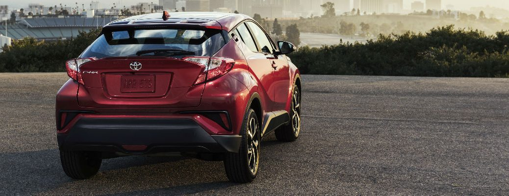 2018 Toyota CH-R Performance and Design Specs