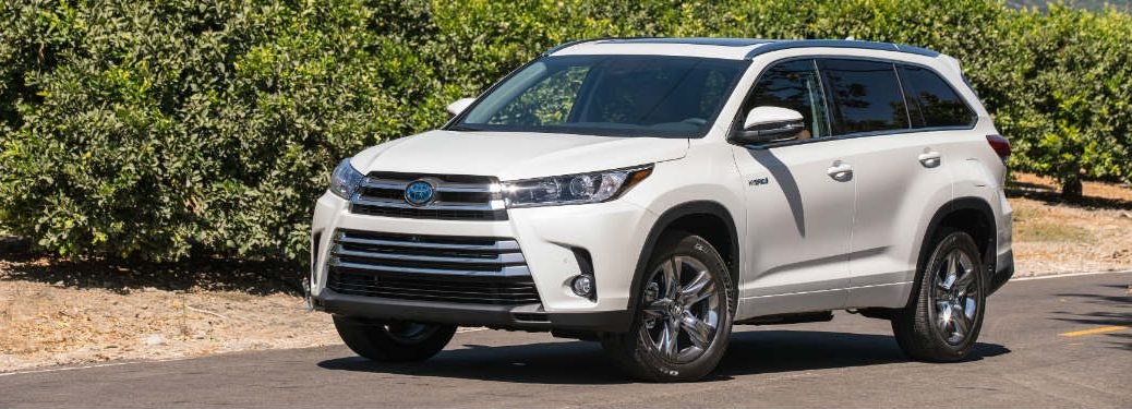 2018 Toyota Highlander Hybrid Fuel Economy Ratings