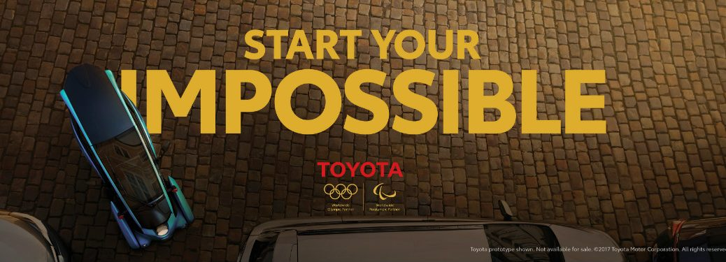 toyota start your impossible campaign banner