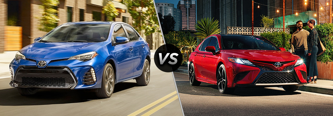 Corolla Vs Camry >> Differences Between The 2018 Toyota Camry And Corolla