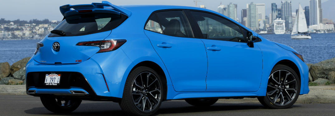 When Will The 2019 Toyota Corolla Hatchback Be Available