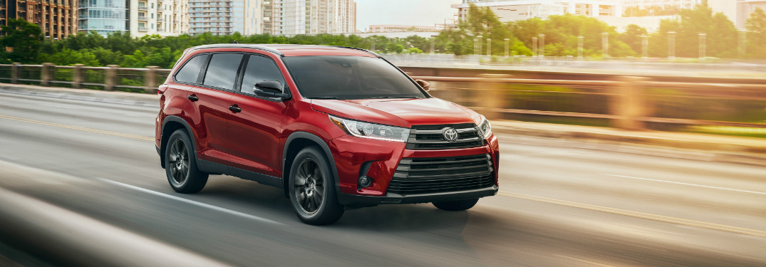 What Is The 2019 Toyota Highlander Nightshade Special Edition