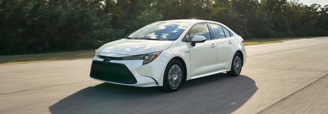 How Efficient is the 2020 Toyota Corolla Hybrid?