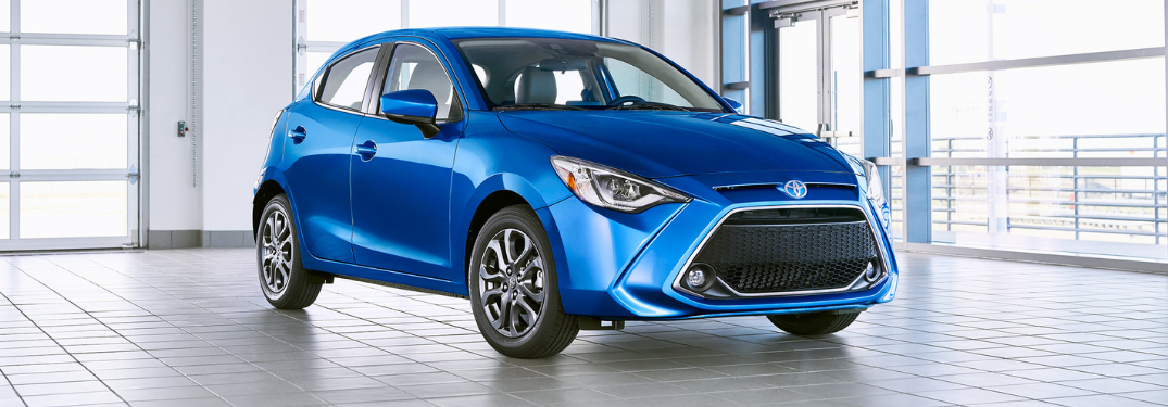 Get Your First Look at the All-New 2020 Toyota Yaris Hatchback!
