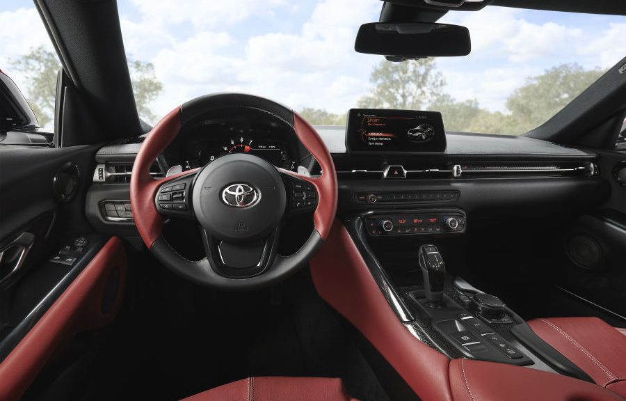 2020 Toyota Supra Launch Edition Interior Cabin Dashboard