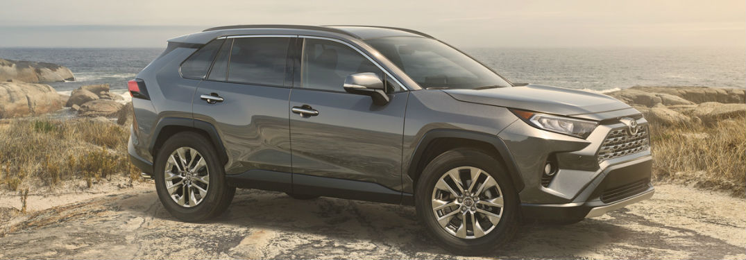 Large interior of new 2019 Toyota RAV4 offers impressive amounts of both passenger and cargo space