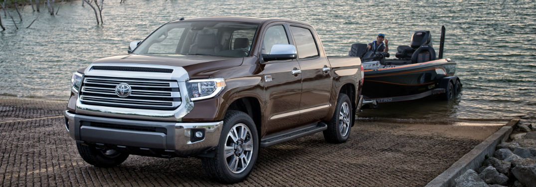 Two available engine options available in new 2019 Toyota Tundra help deliver the power and capability you're looking for in a new pickup truck