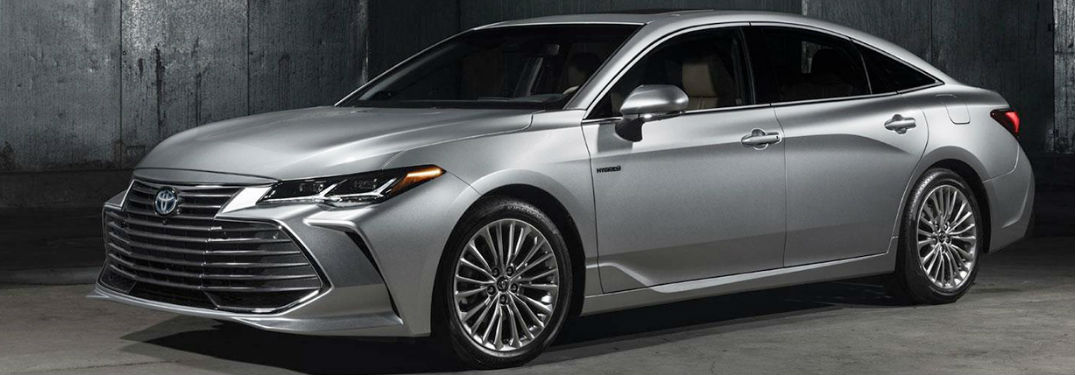 Long list of luxury features available in new 2019 Toyota Avalon sedan