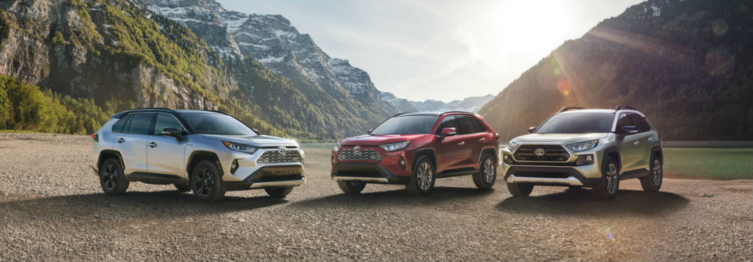 Long list of technology and comfort features available in new 2019 Toyota RAV4 crossover SUV