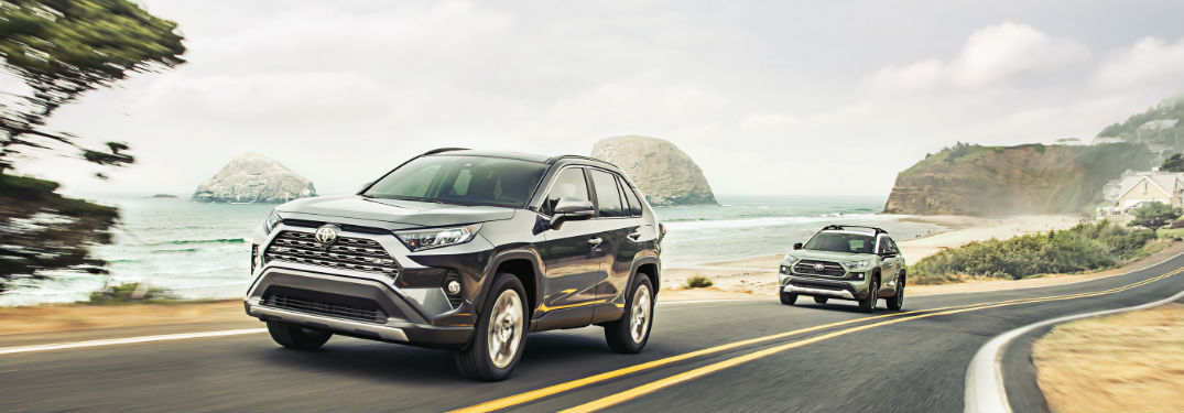 What is the Fuel Economy Rating of the 2019 Toyota RAV4?