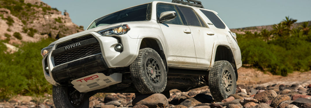 Incredible power and capability found in the new 2019 Toyota 4Runner SUV
