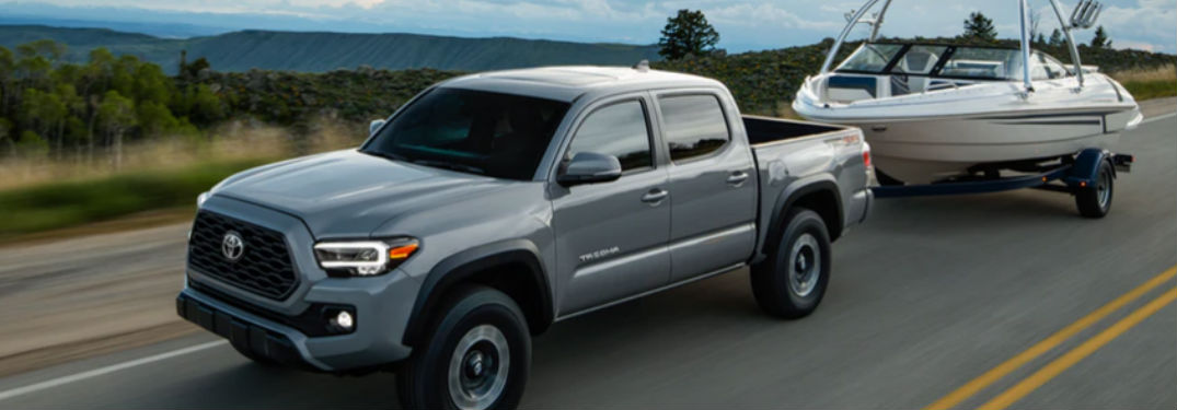 Towing and hauling power of the new 2020 Toyota Tacoma impresses truck shoppers