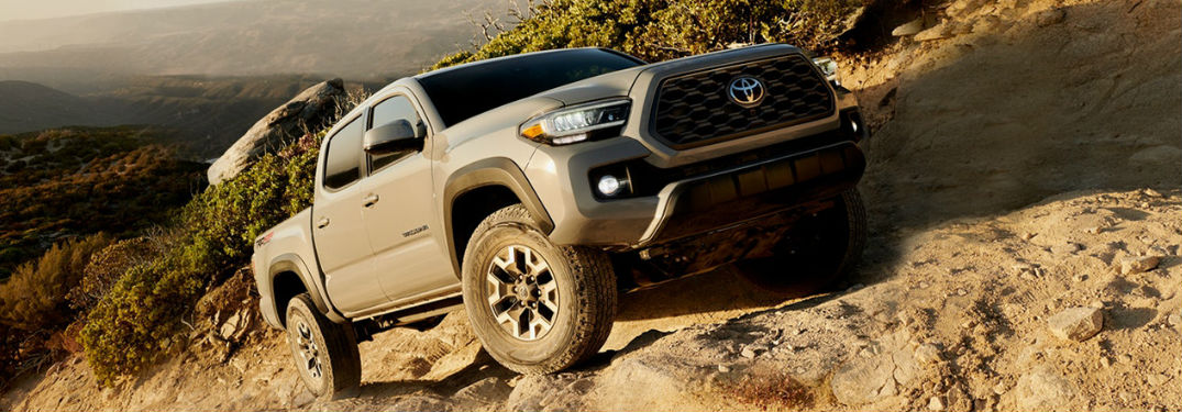 What are the color options of the 2020 Toyota Tacoma pickup truck?