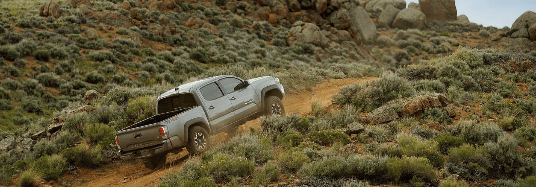 Check Out This Video of the 2020 Toyota Tacoma Off-Road Driving