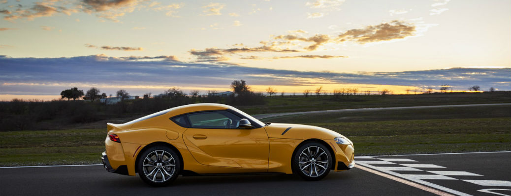 Check out these photos of the new 2021 Toyota GR Supra 2.0