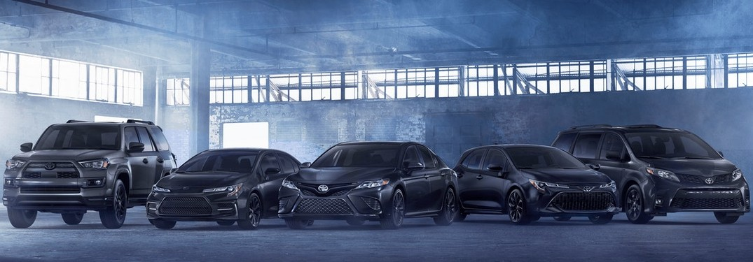 How Many Toyota Nightshade Edition Models are There?