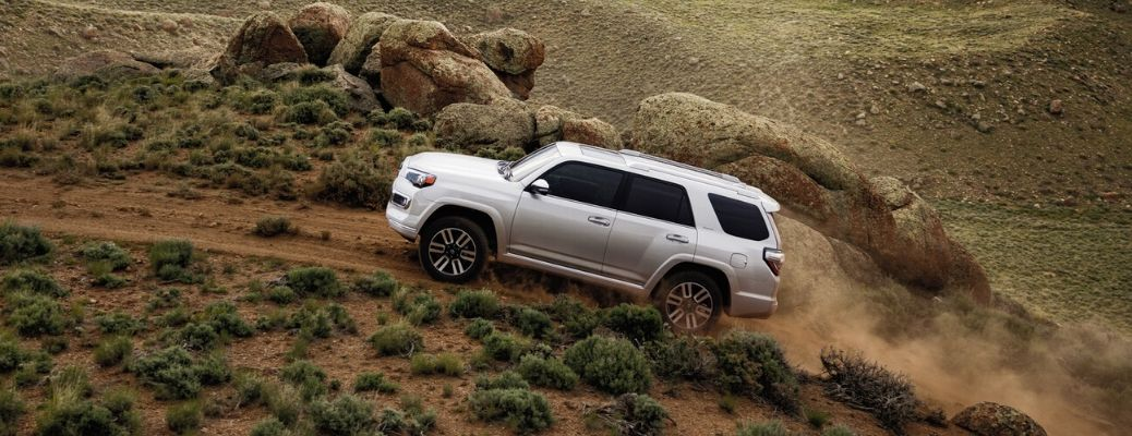2020 Toyota 4Runner climbing up hill