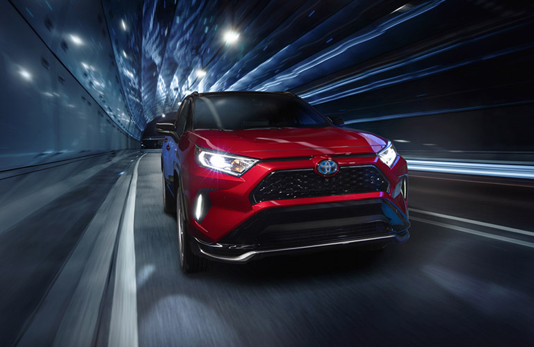 2021 RAV4 Prime from the exterior front