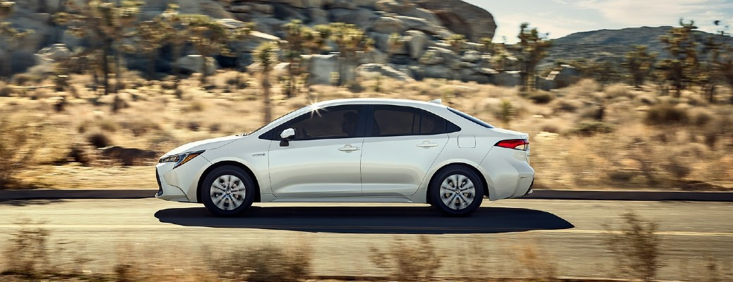 Check out an overview of the 2021 Toyota Corolla Hybrid