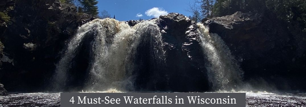 Check out a few of Wisconsin's waterfalls!
