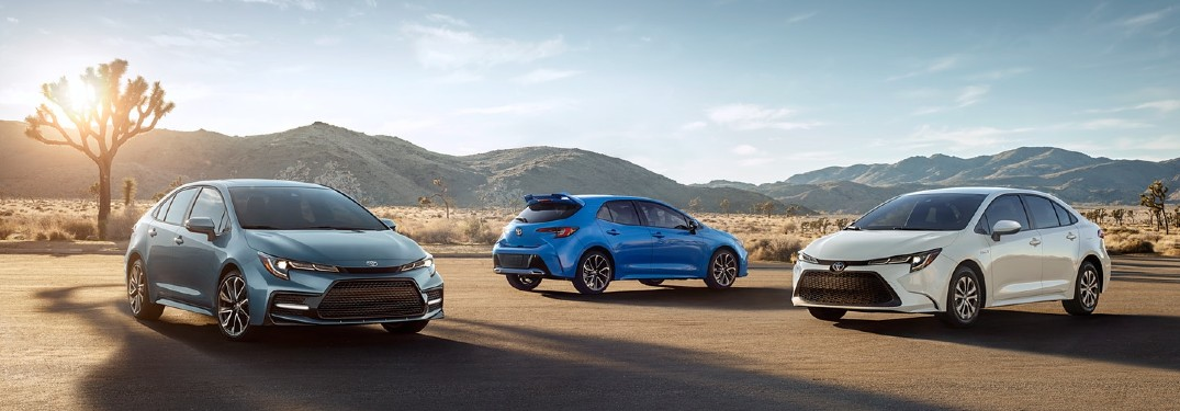 Check out the paint color options for the 2021 Toyota Corolla!