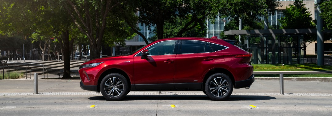 Check out the stylish color options for the 2021 Toyota Venza!