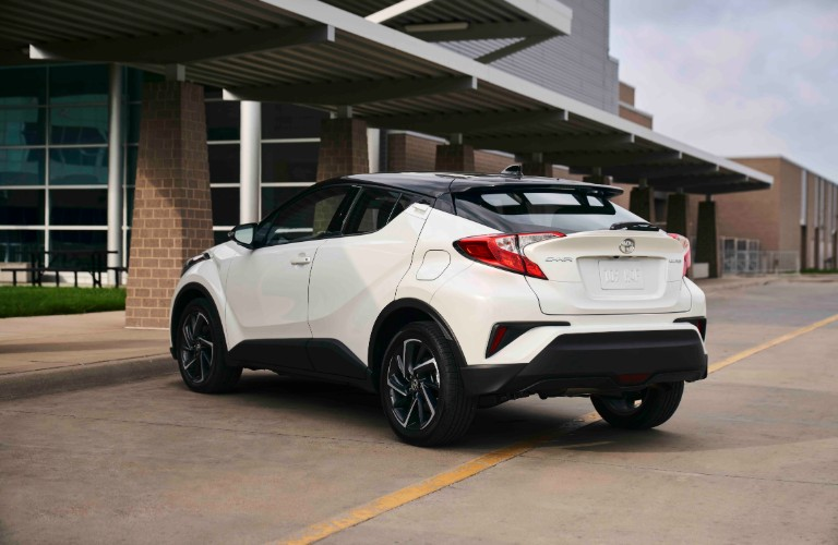 2021 Toyota C-HR from exterior rear