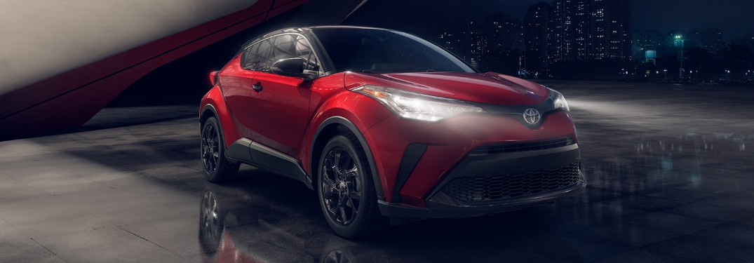 What's new on the 2021 Toyota C-HR?