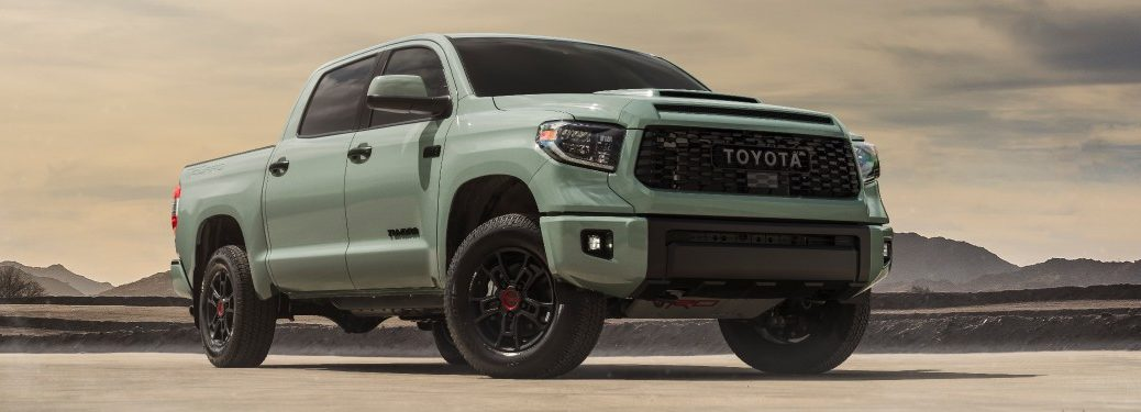 2021 Toyota Tundra Trail from exterior front