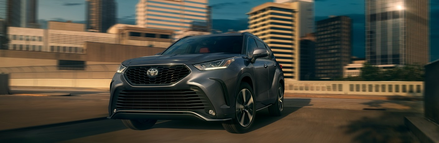 The 2021 Toyota Highlander is in Stock at Hesser Toyota
