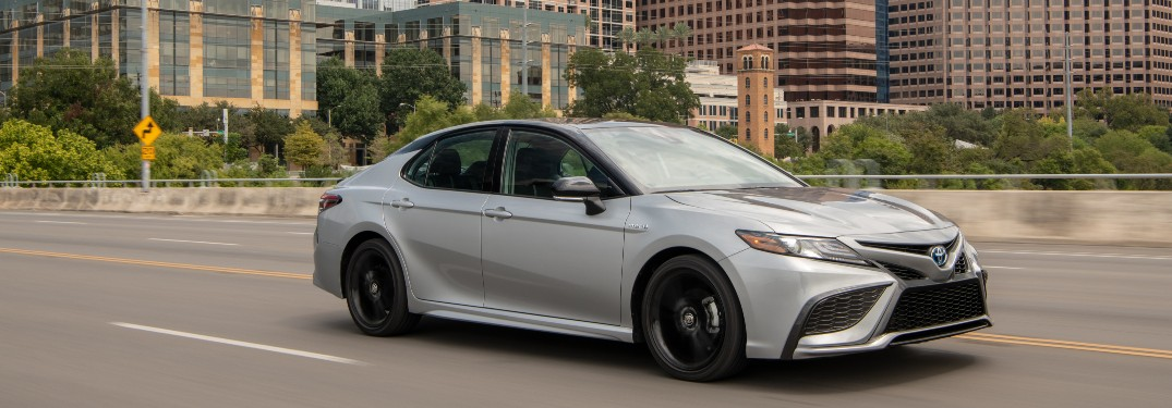 Video Walkthrough of the 2021 Toyota Camry