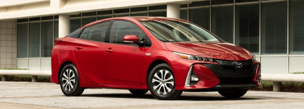 2021 Toyota Prius Prime from exterior front