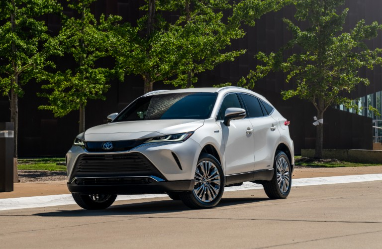 2021 Toyota Venza from the exterior front