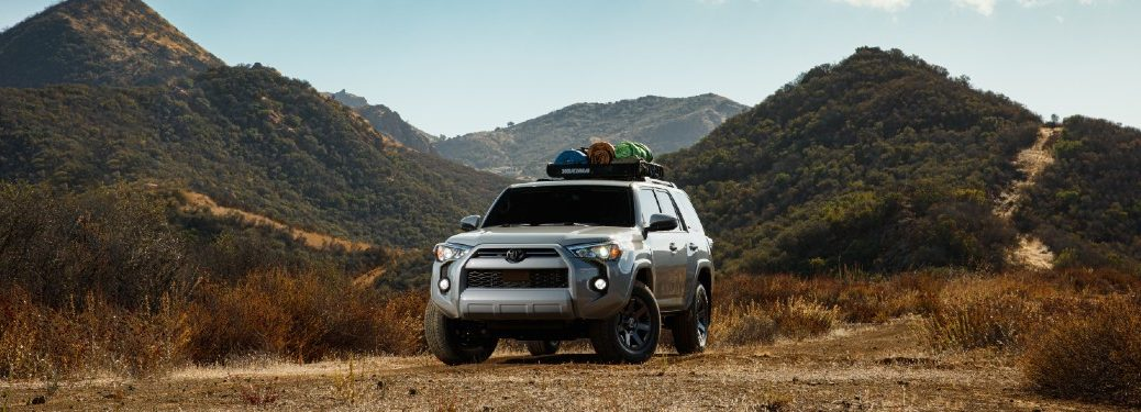 2021 Toyota 4Runner Trail from exterior front