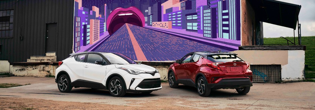 Learn about the display size in the 2021 Toyota C-HR!
