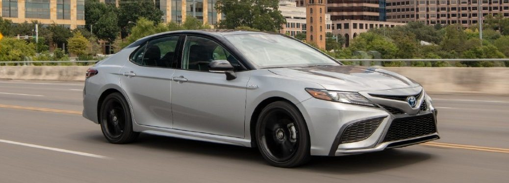 2021 Toyota Camry from front passenger side