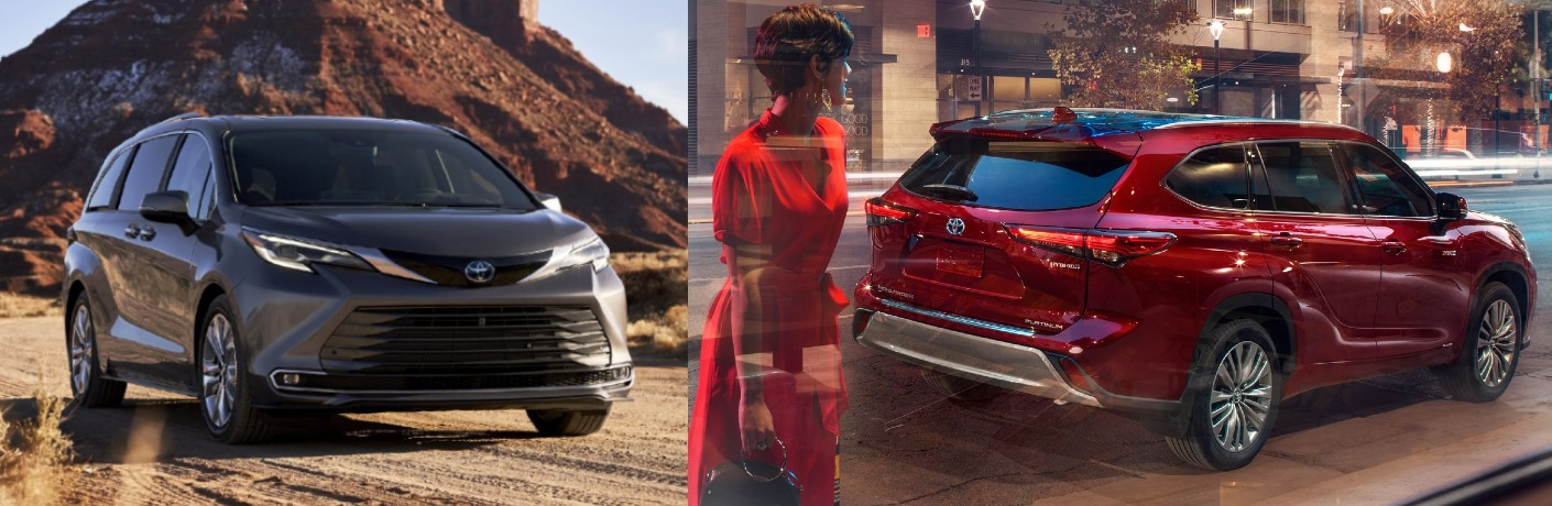 Which family vehicle from Toyota is right for me?