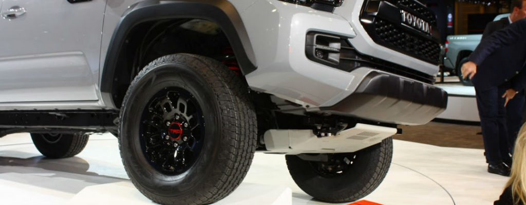 Official 2017 Toyota Tacoma TRD Pro Release Date Bangor ME at Downeast Toyota-Tacoma TRD Pro Wheels and Suspension-2016 Chicago Auto Show Debut