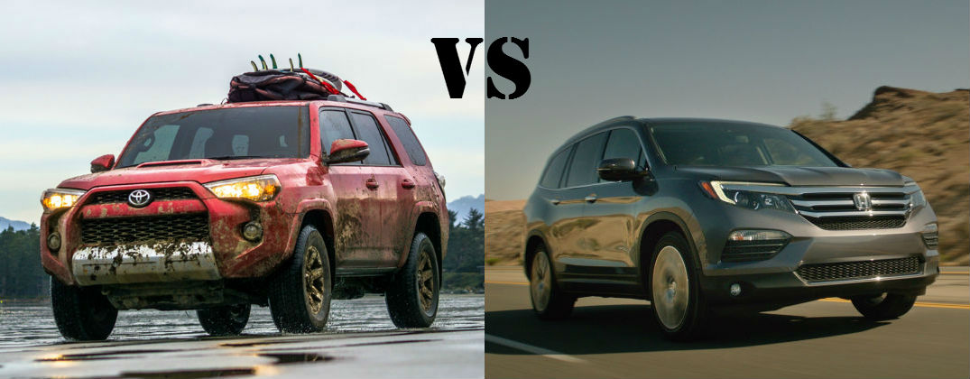 Toyota 4Runner Dominates the Honda Pilot On and Off the Road