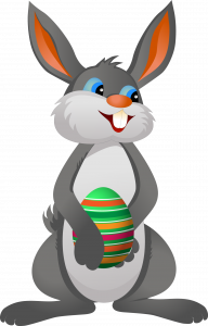 2016 Easter Events Bangor ME at Downeast Toyota-Happy Easter Bunny with Easter Egg