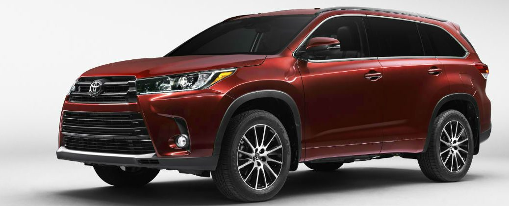 Official 2017 Toyota Highlander Release Date and Design at Downeast Toyota-Bangor ME-Salsa Red Pearl 2017 Toyota Highlander Front Exterior