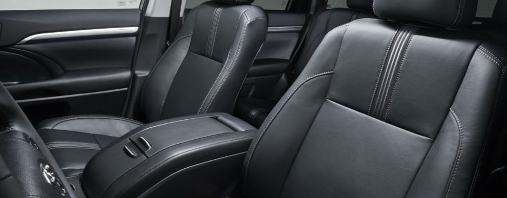 Official 2017 Toyota Highlander Release Date and Design at Downeast Toyota-Bangor ME-Luxurious Black 2017 Toyota Highlander Interior