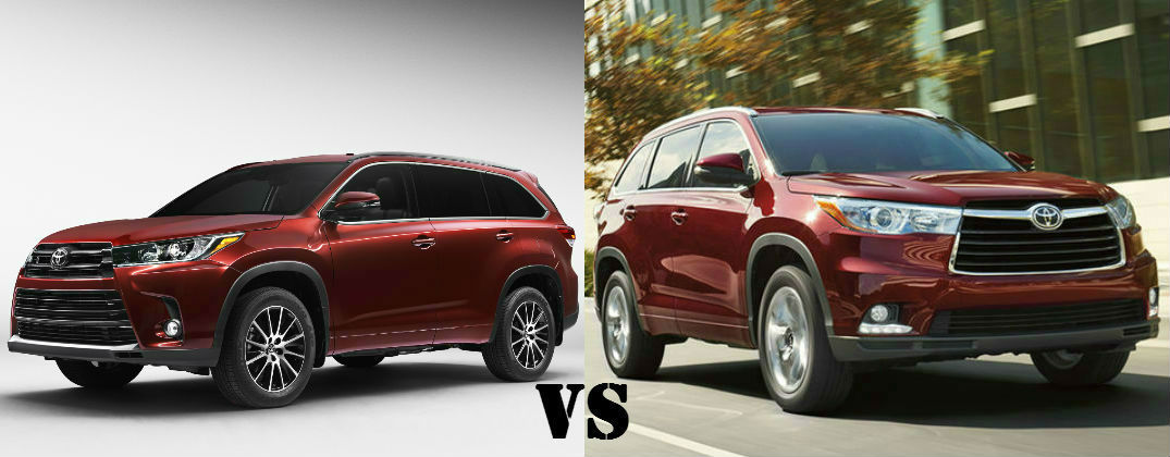 Differences Between The 2017 Toyota Highlander And 2016 Toyota Highlander Downeast Toyota