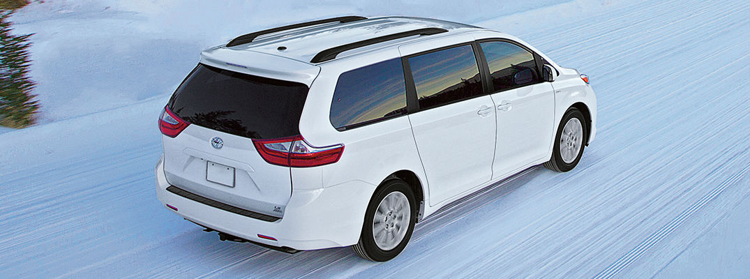 Toyota Models Improve Performance and Safety with All-Wheel Drive
