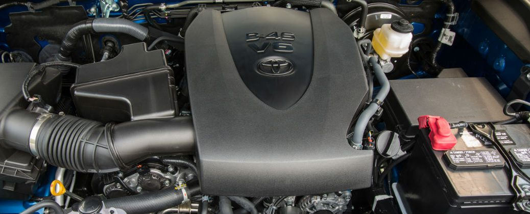 2016 Toyota Tacoma Atkinson Cycle V-6 Engine Under the Hood