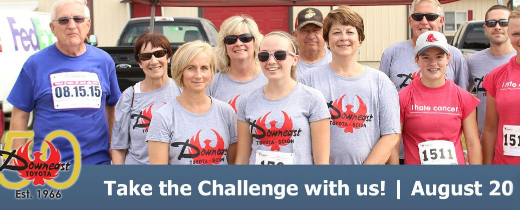 Downeast Toyota EMMC Champion the Cure Challenge Team