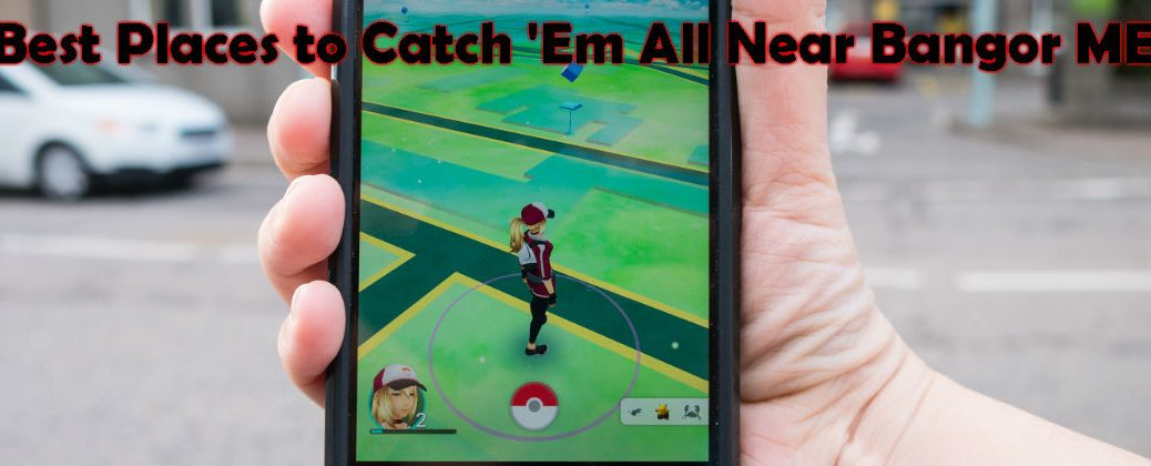 Hand Holding Smartphone with Pokemon Go Avatar