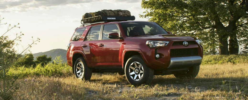 Red 2017 Toyota 4Runner TRD Off-Road Exterior