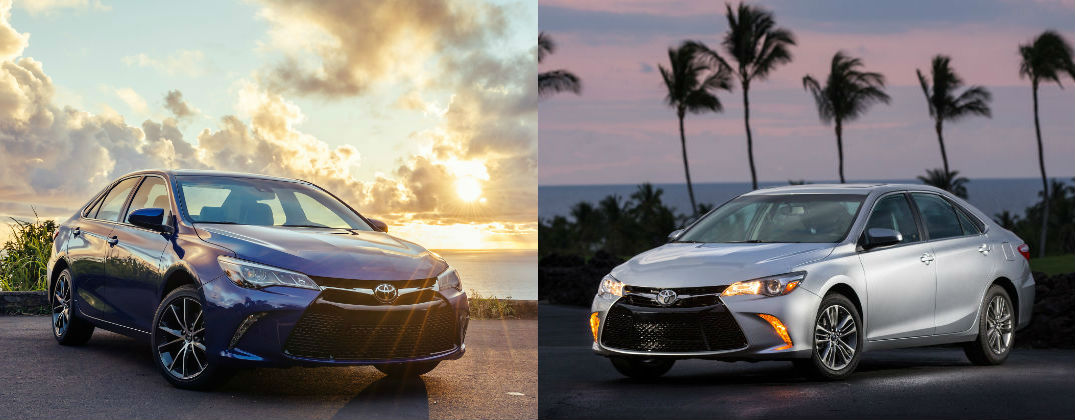 Toyota Camry Trim Levels >> Differences Between Toyota Camry Le And Toyota Camry Se
